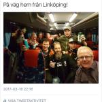 Seger i Linkbussen